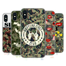 HEAD CASE DESIGNS CAMO ALLA MODA COVER MORBIDA IN GEL PER APPLE iPHONE TELEFONI