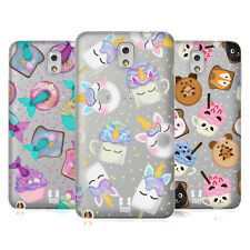 HEAD CASE DESIGNS CIBO KAWAII COVER MORBIDA IN GEL PER SAMSUNG TELEFONI 2
