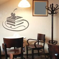 CAKES wall art stickers kitchen cupcake cafe transfers cup home food decal vinyl