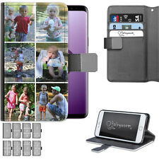 Personalizzato Foto pelle Custodia per Telefono Collage Cover Apple / Samsung /