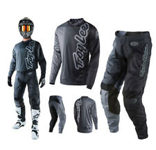 Troy Lee Designs Gp 50/50 Combo Grigio Tubo Radiatore Mx Shirt Enduro Motocross