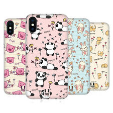HEAD CASE DESIGNS DOODLE GRAZIOSI COVER RETRO RIGIDA PER APPLE iPHONE TELEFONI