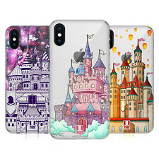 HEAD CASE DESIGNS CASTELLI DI SOGNO COVER RETRO RIGIDA PER APPLE iPHONE TELEFONI