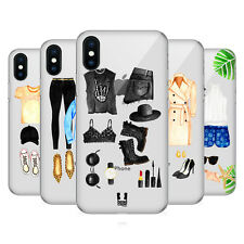 HEAD CASE DESIGNS #OOTD COVER RETRO RIGIDA PER APPLE iPHONE TELEFONI