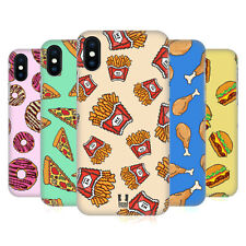 HEAD CASE DESIGNS CIBO PIXEL COVER RETRO RIGIDA PER APPLE iPHONE TELEFONI
