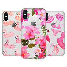 HEAD CASE DESIGNS ROSA FUCSIA COVER RETRO RIGIDA PER APPLE iPHONE TELEFONI