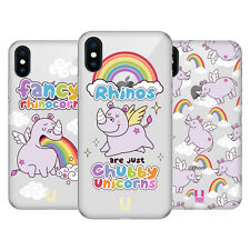 HEAD CASE DESIGNS RHINOCORNO COVER RETRO RIGIDA PER APPLE iPHONE TELEFONI