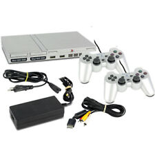 PS2 Console Fat Slim in Silver or Black - Controller Und Game for Selection