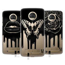 HEAD CASE DESIGNS GOCCIA NERA COVER RETRO RIGIDA PER MOTOROLA TELEFONI 1