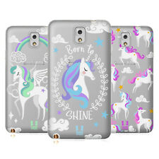 HEAD CASE DESIGNS UNICORNI COLORATI COVER MORBIDA IN GEL PER SAMSUNG TELEFONI 2