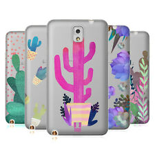 HEAD CASE DESIGNS CACTUS AQUARELLO COVER MORBIDA IN GEL PER SAMSUNG TELEFONI 2