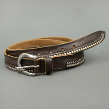 Minoronzoni 1953 LEATHER BELT MADE IN ITALY Brown mod. 144C020-C60