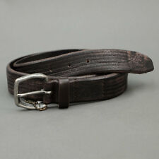 Minoronzoni 1953 LEATHER BELT MADE IN ITALY Brown mod. 143C013-C60
