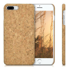 FUNDA TRASERA DE CORCHO NATURAL PARA APPLE IPHONE 7 PLUS 8 PLUS