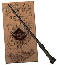 Harry Potter Marauders Map in Wrapped themed envelope, Harry Potter Magical Wand