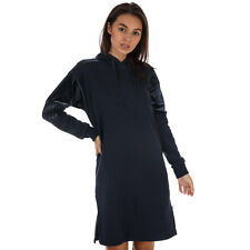 Womens adidas Originals Hoody Dress In Legend Ink