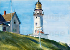 Poster / Toile / Tableau verre acrylique Light at Two Lights - Edward Hopper