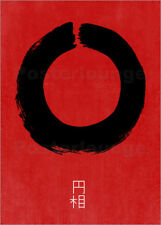 Poster / Toile / Tableau verre acrylique ENSO IN JAPAN - THE USUAL DESIGNERS