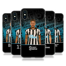 NEWCASTLE UNITED FC 2017/18 FIRST TEAM 1 CASE IN GEL PER APPLE iPHONE TELEFONI