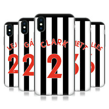 NEWCASTLE UNITED FC 2017/18 HOME KIT 1 CASE IN GEL PER APPLE iPHONE TELEFONI