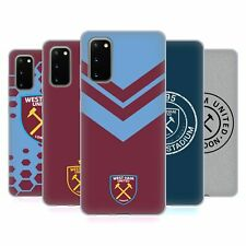 UFFICIALE WEST HAM UNITED FC 2018/19 CREST CASE IN GEL PER SAMSUNG TELEFONI 1