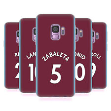 WEST HAM UNITED FC 2017/18 HOME KIT 1 CASE IN GEL PER SAMSUNG TELEFONI 1