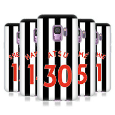 NEWCASTLE UNITED FC NUFC 2017/18 HOME KIT 2 CASE IN GEL PER SAMSUNG TELEFONI 1