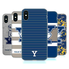 OFFICIAL YALE UNIVERSITY 2018/19 PATTERNS SOFT GEL CASE FOR APPLE iPHONE PHONES