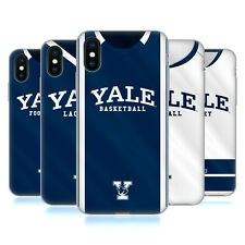OFFICIAL YALE UNIVERSITY 2017/18 JERSEYS SOFT GEL CASE FOR APPLE iPHONE PHONES