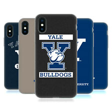 OFFICIAL YALE UNIVERSITY 2018/19 LOGOS SOFT GEL CASE FOR APPLE iPHONE PHONES