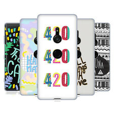 OFFICIAL VASARE NAR TYPOGRAPHY 2 SOFT GEL CASE FOR SONY PHONES 1