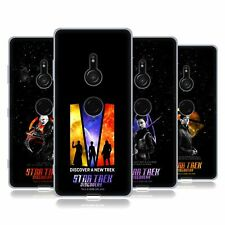 STAR TREK DISCOVERY DISCOVERY NEBULA CHARACTERS SOFT GEL CASE FOR SONY PHONES 1