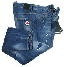 DSQUARED2 Jeans | Skater Jean SIZE 52 navy distressed + Patch