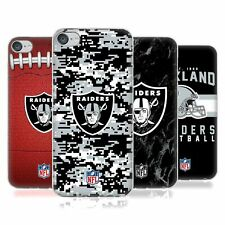 OFFICIAL NFL 2018/19 OAKLAND RAIDERS SOFT GEL CASE FOR APPLE iPOD TOUCH MP3