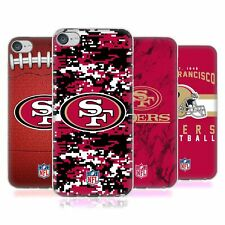 OFFICIAL NFL 2018/19 SAN FRANCISCO 49ERS SOFT GEL CASE FOR APPLE iPOD TOUCH MP3