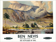 Póster, lienzo o cuadro en metacrilato Ben Nevis, British... - Scottish School
