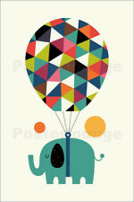 Póster, lienzo o cuadro en metacrilato Fly High And Dream Big - Andy Westface