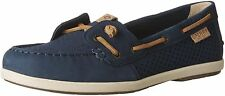 Sperry Top-Sider Donna con Molle Edera Blu Navy Scala Rilievo Scarpe Stile Barca