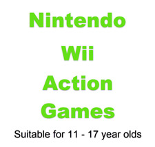 Action Nintendo Wii Games #2 Suitable Teenagers(11-17yrs)Choose A Game From List