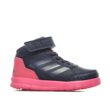 Infant Girls adidas Altasport Mid El Trainers In Navy- Hook And Loop Strap To