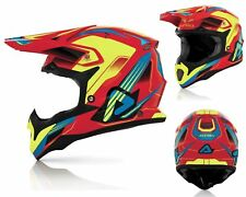 Acerbis Impact Casco Cross Kryptonyte Mx Enduro Casco