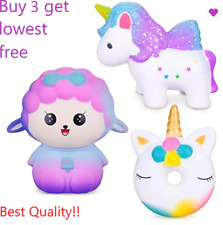 Jumbo Slow Rising Squishies Scented Charms Hand and Wrist Toy