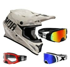 Thor Sector Covert Casco da Cross Motocross Sabbia Camo Two-X Rocket Occhiali