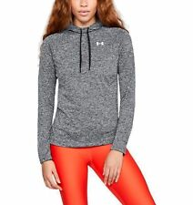 Under Armour Mujer Correr Tech Twist Camisa con Capucha Sudadera 2.0 Negro