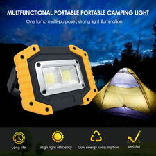 30W USB COB LED Portable Rechargeable Flood Light Lamp Spot Work Camping Outdoor