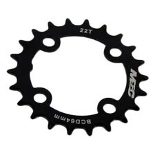 Msc Steel Chainring 4arm Black , Platos Msc , ciclismo , Componentes