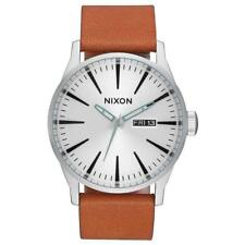 Nixon Sentry Leather, Orologi, moda, Accessori Uomo