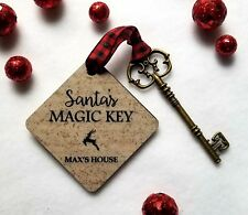 SANTA'S MAGIC KEY -- Personalized Special Christmas Magical Tradition No Chimney