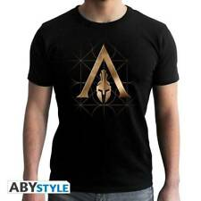 ASSASSIN S CREED - Tshirt - Crest Odyssey - man SS black - new fit