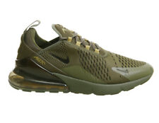 Nike Air Max 270 Olive Cargo Green Golden Khaki Black Mens Trainers AH8050-301